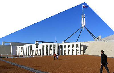 Parliament House, the place for working things out