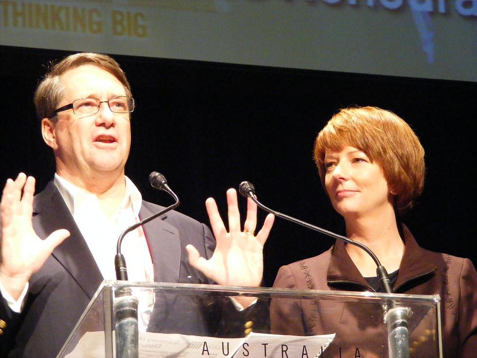 julia gillard earlobes. Julia Gillard