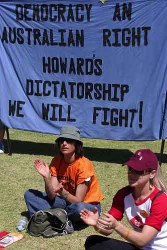 Fighting for Democracy in Perth: the IR Protests November 2005
