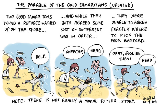 The Revised Parable of the Good Samaritan