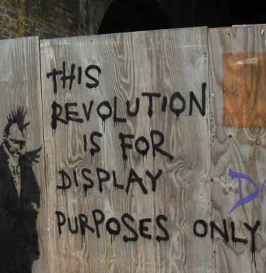 This revolution is for display purposes only: the blogosphere revolution sets the page for reform of the media