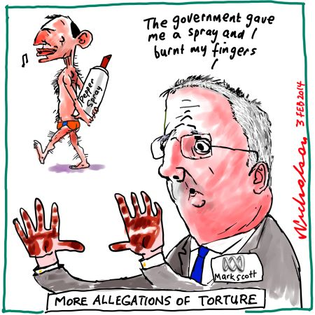 ABC Director Mark Scott was the target of Abbott's Conservatives during the burnt hands affair