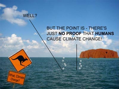 Climate Skeptics and Australia submerged