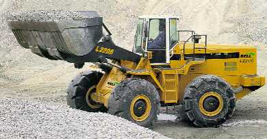 Scoop up the downloads with the front end loader!
