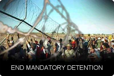 GetUp End Detention Campaign page
