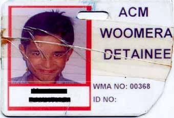 The Woomera ID Card