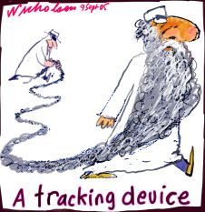 A tracking device for Muslim would-be terrorists