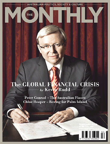 Kevin Rudd, The Global Financial Crisis