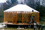 Making a Yurt