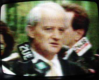 Philip Ruddock in his role and element: justifying, spinning yarns, defending indefensible policies on television
