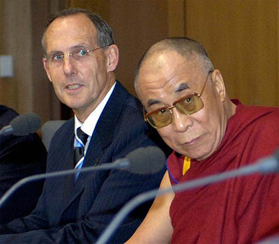 Bob Brown and the Dalai Lama