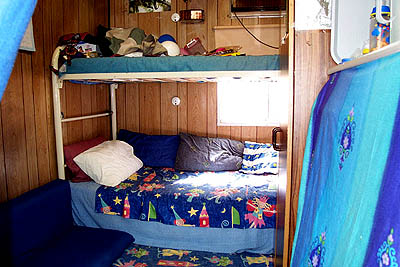 Bunks in the Curtin Detention centre