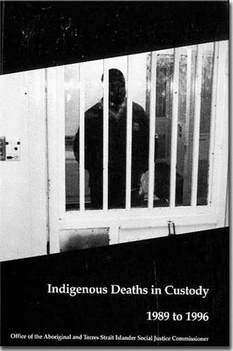 Cover image of HREOC Aboriginal Deaths in Custody 1989-1996