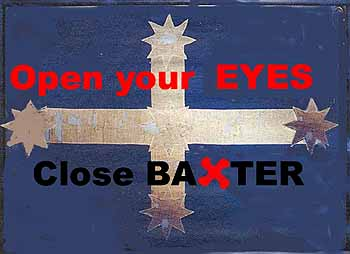The Baxter Eureka Flag: discovering that Baxter should close