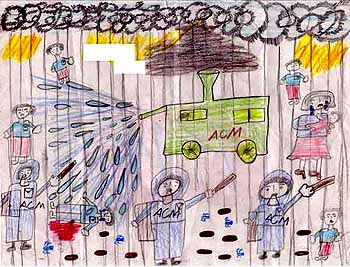 The torture of children inside a detention centre: intimidation, fear,  disorientation, isolation