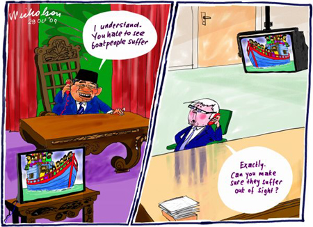 Kevin Rudd cooks up his Indonesian Solution with SBY