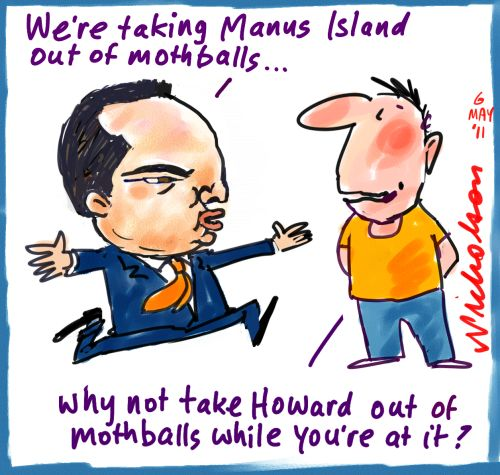 Reviving Manus Island and John Howard
