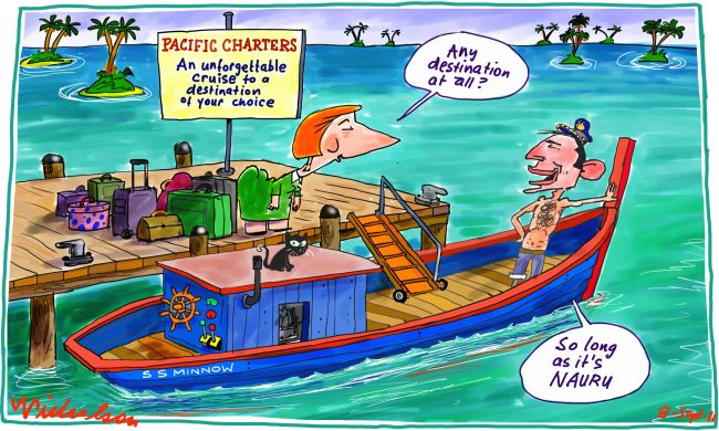 Tony Abbott the generous ferryman