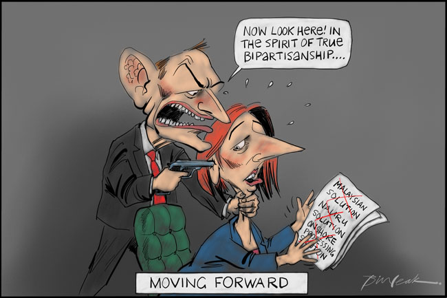 Tony Abbott the bipartisan dealmaker