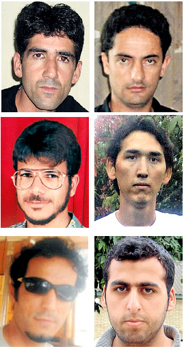 Some of the men who were on board of the boat that vanished