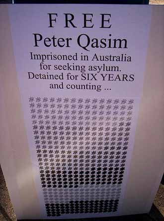 The counting of the days: endless for Peter Qasim
