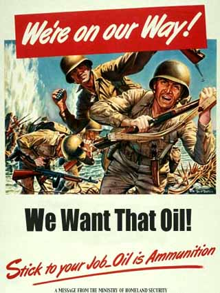 We want your Oil!